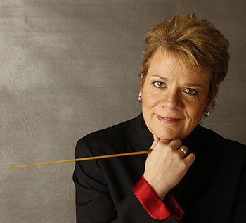Marin Alsop - Music Director of Baltimore Symphony Orchestra